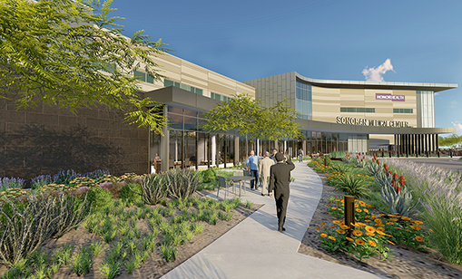 Sonoran Medical Center in north Phoenix will be HonorHealth's sixth hospital location