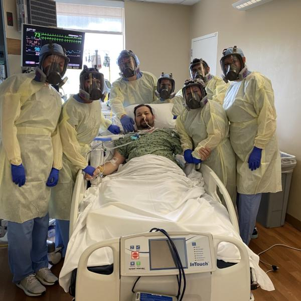 HonorHealth - First patient in Arizona to survive COVID-19 after treatment on ECMO machine